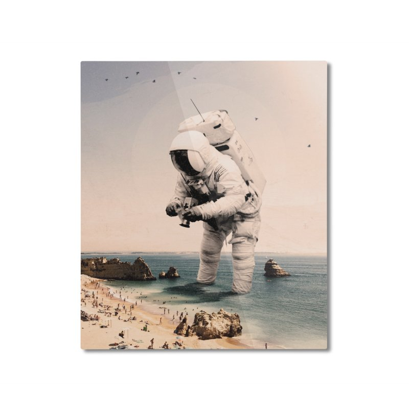 The Speculator Home Mounted Aluminum Print by nicebleed