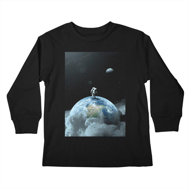 The Speculator II Kids Longsleeve T-Shirt by nicebleed