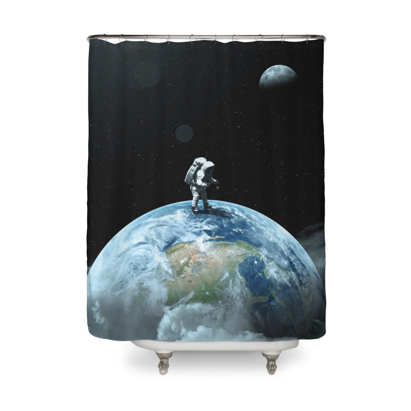 The Speculator II Home Shower Curtain by nicebleed