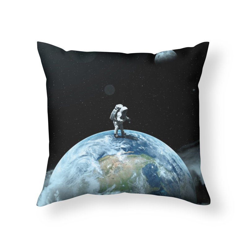 The Speculator II Home Throw Pillow by nicebleed
