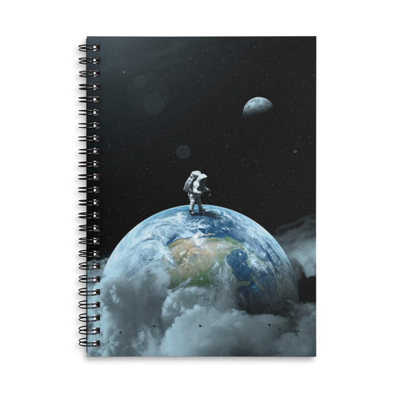 The Speculator II Accessories Lined Spiral Notebook by nicebleed