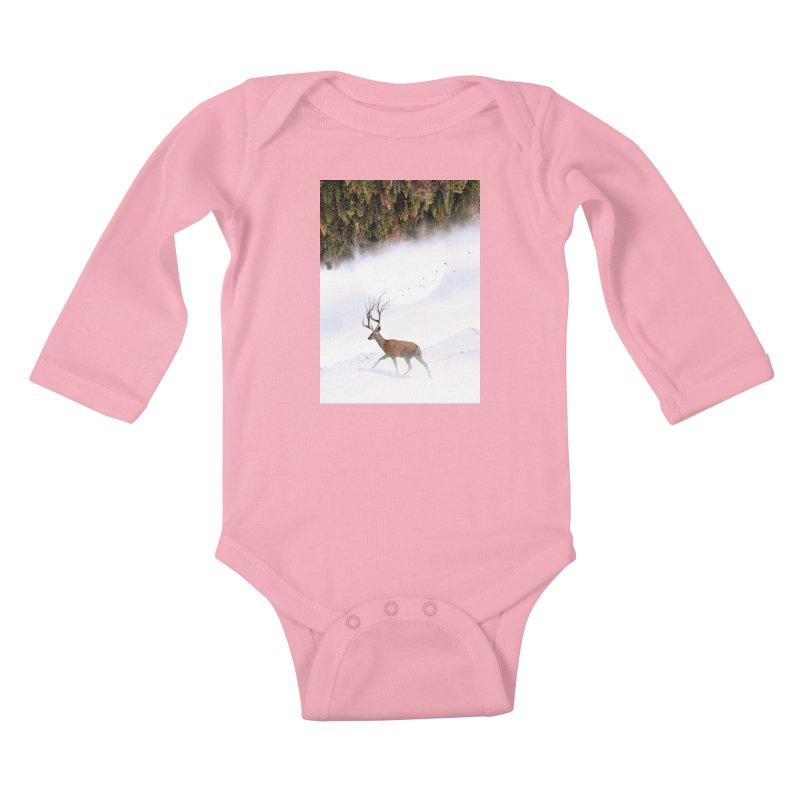 Inevitable Kids Baby Longsleeve Bodysuit by nicebleed