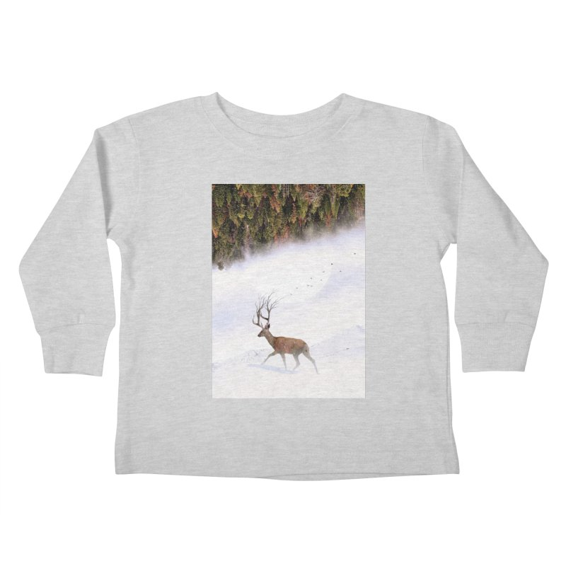 Inevitable Kids Toddler Longsleeve T-Shirt by nicebleed