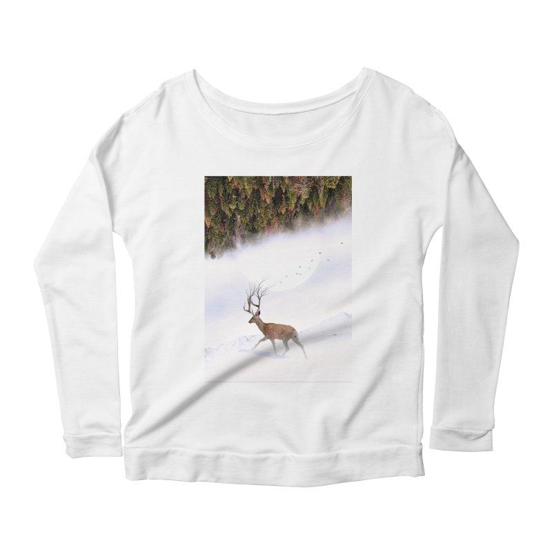 Inevitable Women's Scoop Neck Longsleeve T-Shirt by nicebleed