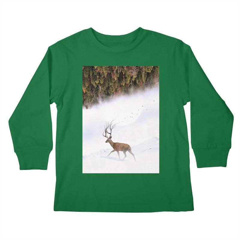 Inevitable Kids Longsleeve T-Shirt by nicebleed