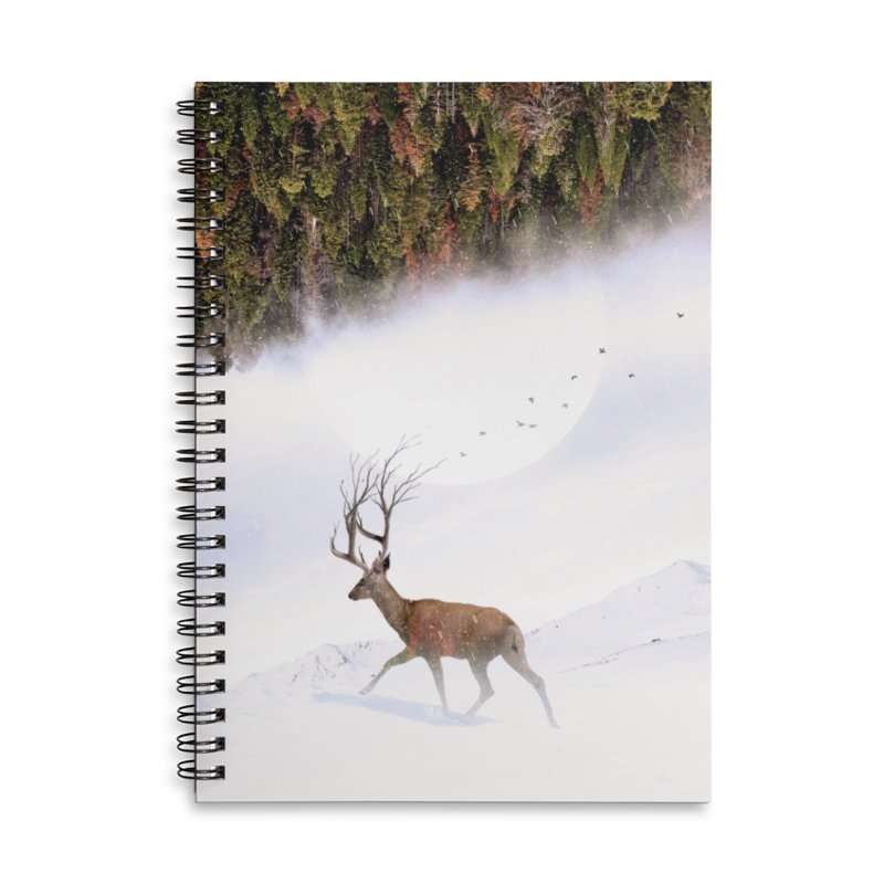 Inevitable Accessories Lined Spiral Notebook by nicebleed
