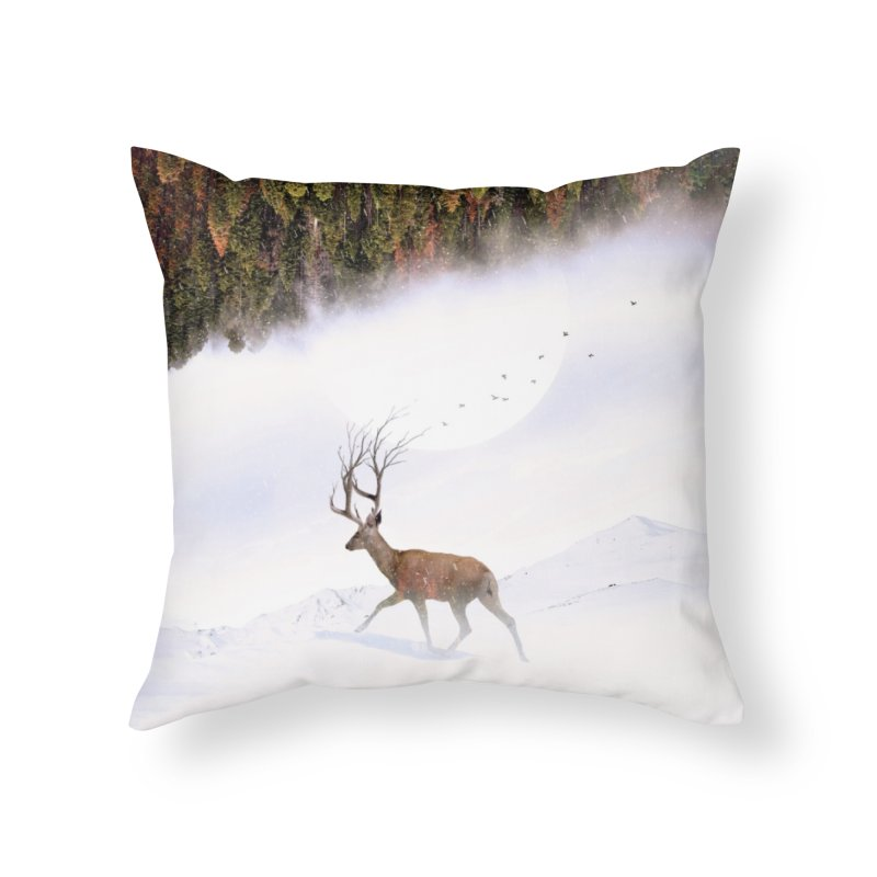Inevitable Home Throw Pillow by nicebleed