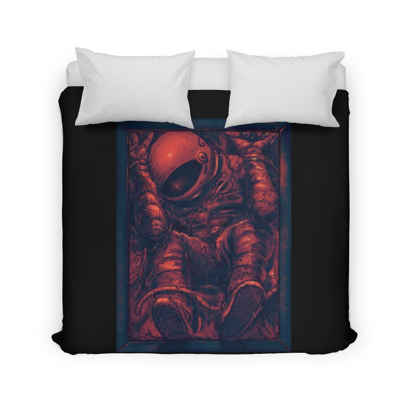 Trapped Home Duvet by nicebleed