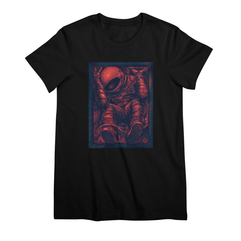 Trapped Women's Premium T-Shirt by nicebleed