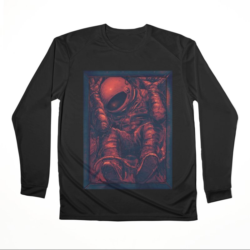 Trapped Men's Performance Longsleeve T-Shirt by nicebleed