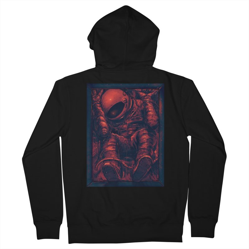 Trapped Men's French Terry Zip-Up Hoody by nicebleed
