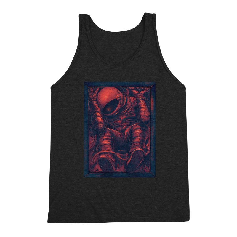 Trapped Men's Triblend Tank by nicebleed
