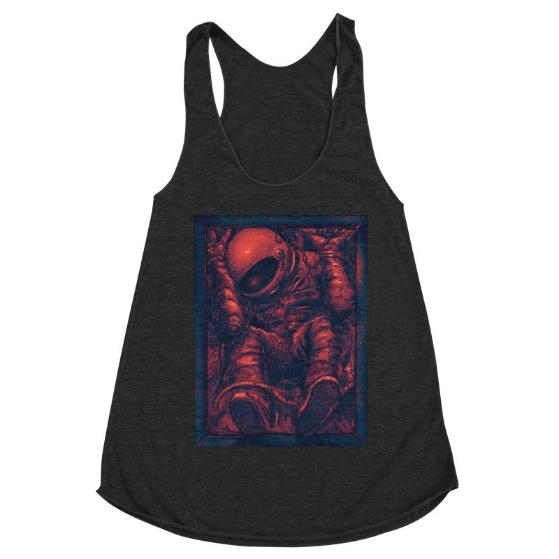 Trapped Women's Racerback Triblend Tank by nicebleed