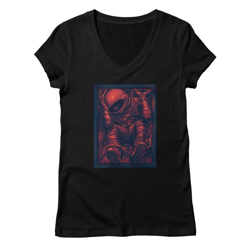 Trapped Women's Regular V-Neck by nicebleed