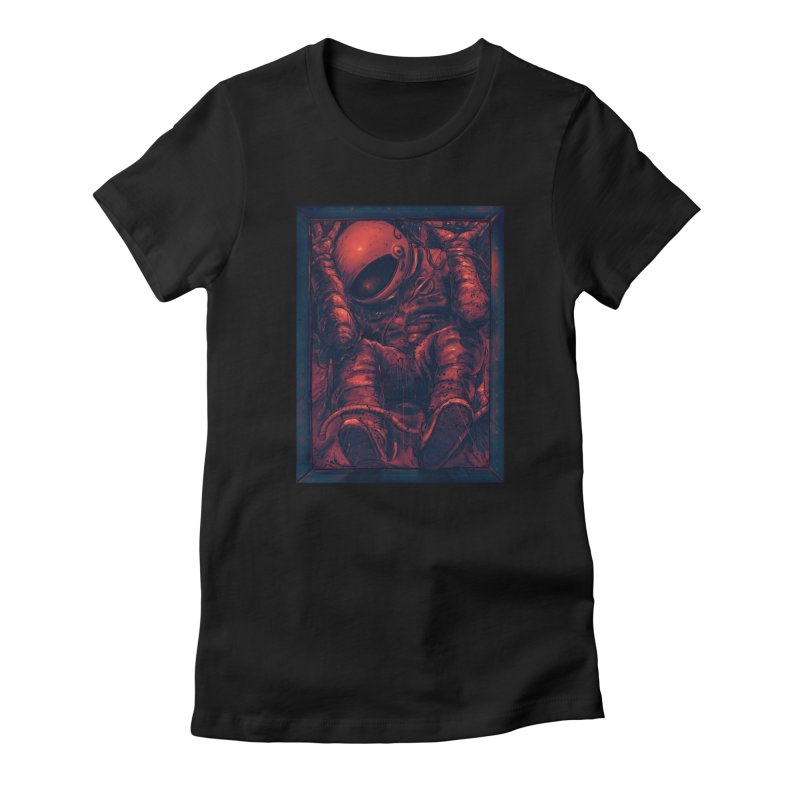 Trapped Women's Fitted T-Shirt by nicebleed