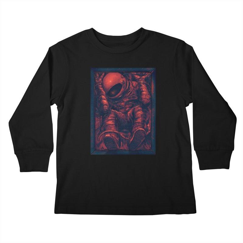 Trapped Kids Longsleeve T-Shirt by nicebleed