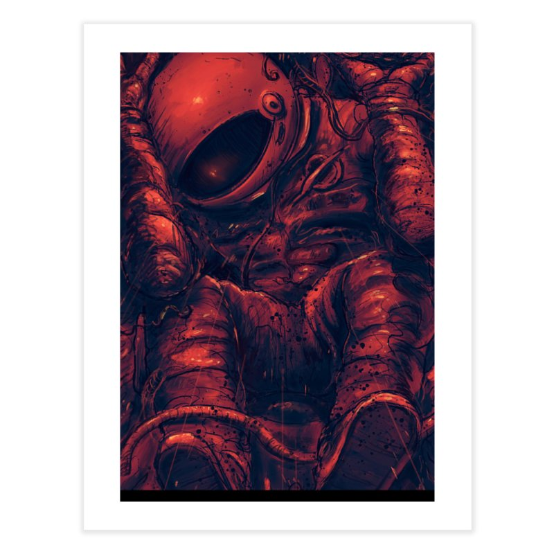 Trapped Home Fine Art Print by nicebleed