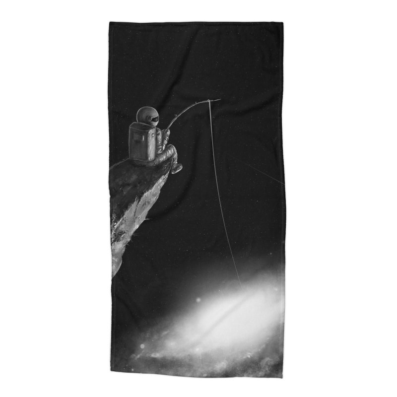 Star Fishing Accessories Beach Towel by nicebleed