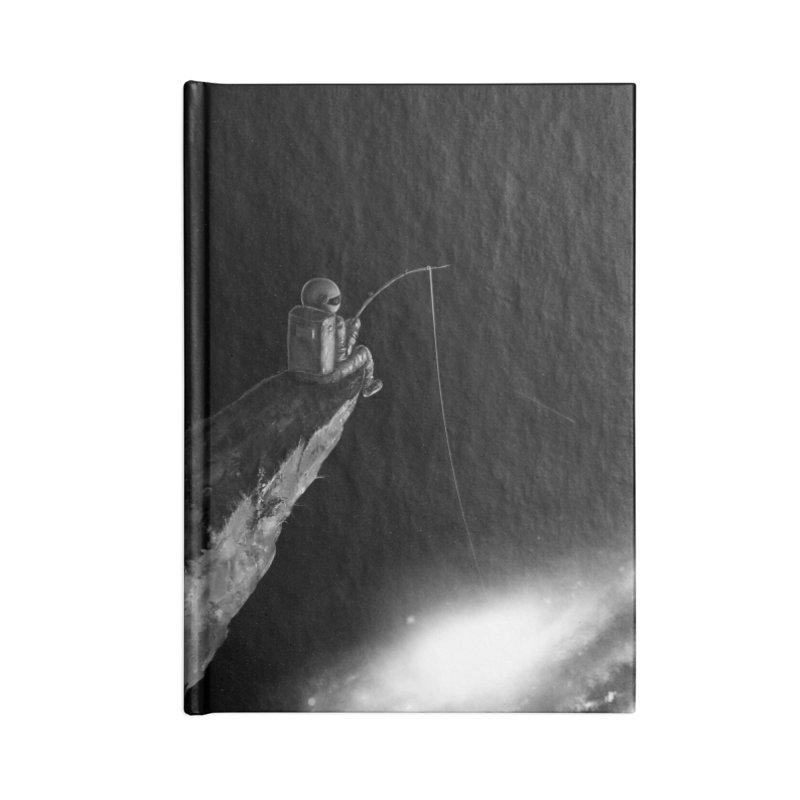 Star Fishing Accessories Blank Journal Notebook by nicebleed