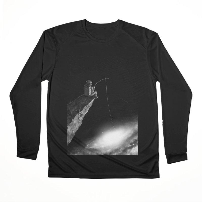 Star Fishing Men's Performance Longsleeve T-Shirt by nicebleed
