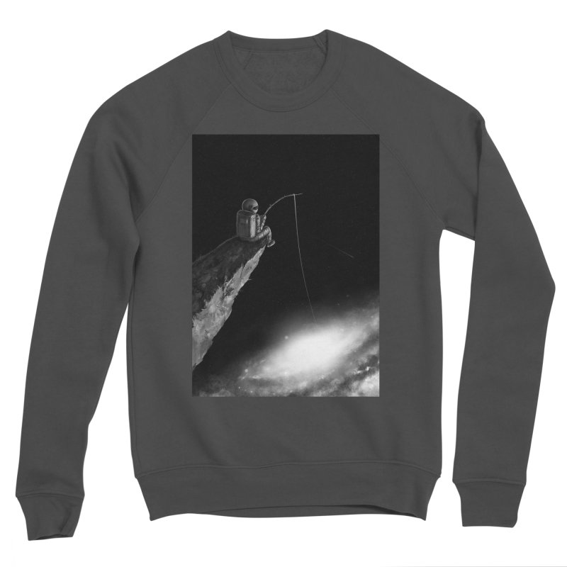 Star Fishing Men's Sponge Fleece Sweatshirt by nicebleed