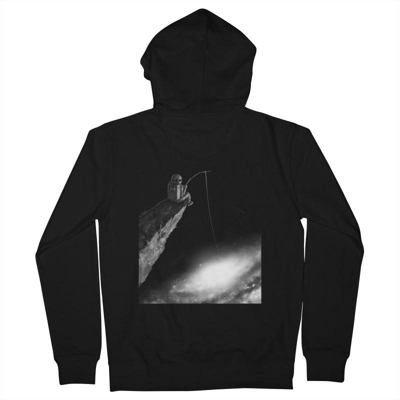 Star Fishing Men's French Terry Zip-Up Hoody by nicebleed