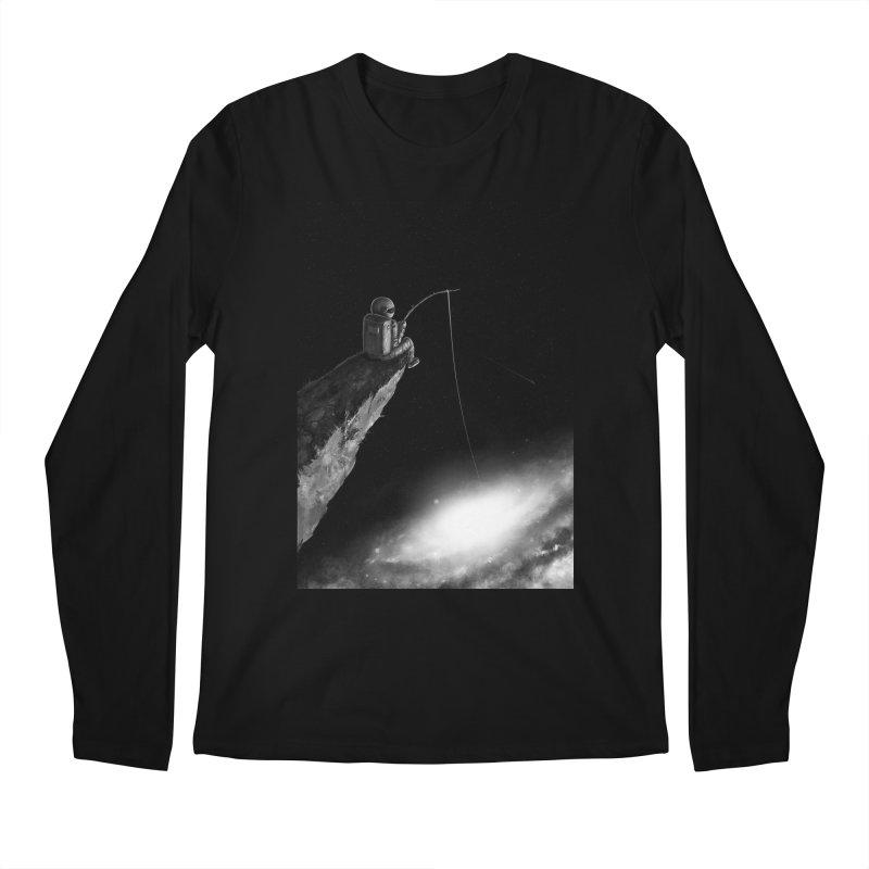 Star Fishing Men's Regular Longsleeve T-Shirt by nicebleed