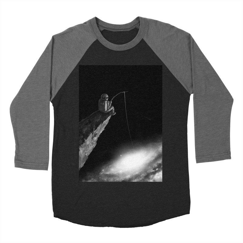 Star Fishing Women's Baseball Triblend Longsleeve T-Shirt by nicebleed