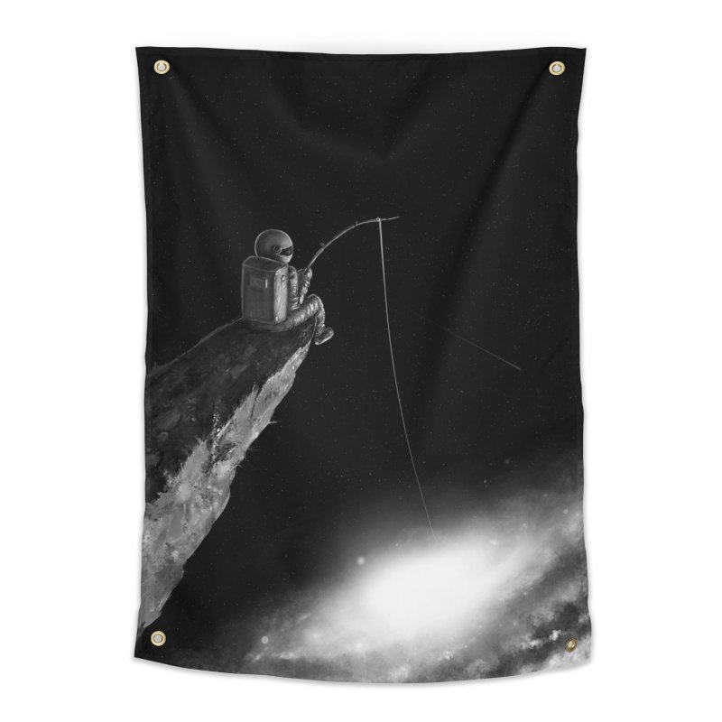 Star Fishing Home Tapestry by nicebleed