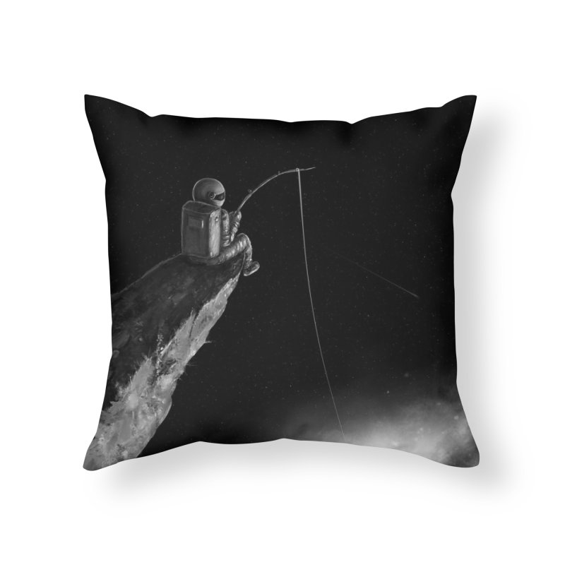 Star Fishing Home Throw Pillow by nicebleed