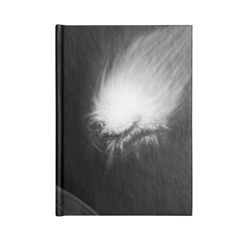 Asteroid Blast Accessories Blank Journal Notebook by nicebleed