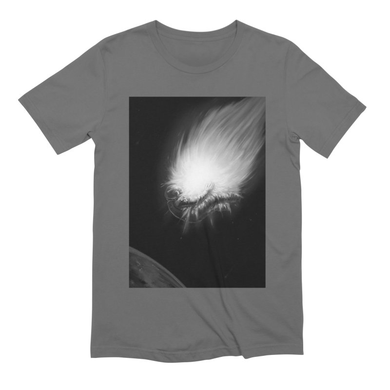 Asteroid Blast Men's Extra Soft T-Shirt by nicebleed