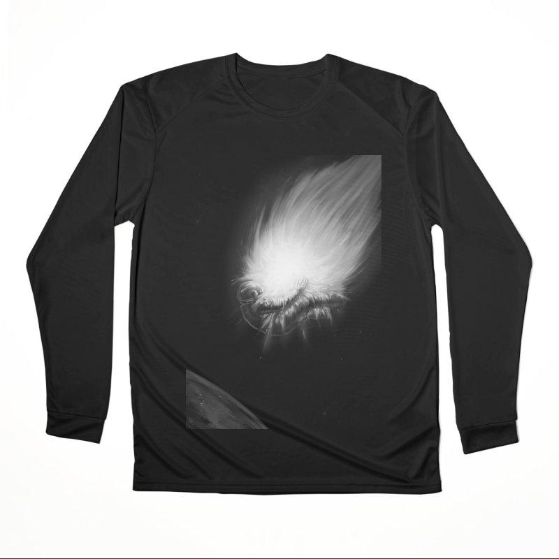 Asteroid Blast Women's Performance Unisex Longsleeve T-Shirt by nicebleed