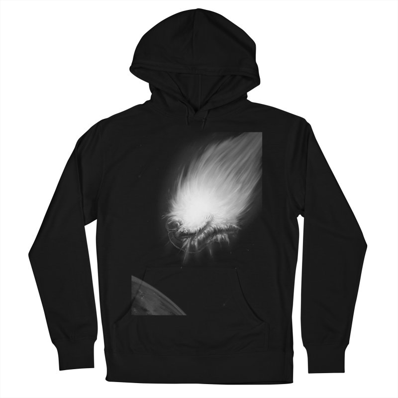 Asteroid Blast Women's French Terry Pullover Hoody by nicebleed