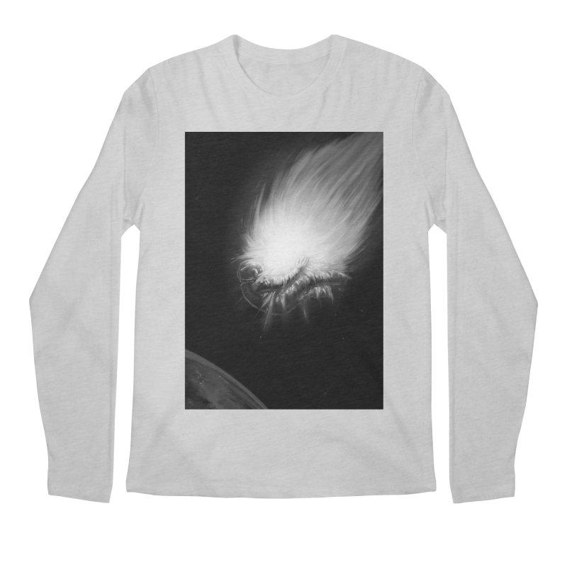 Asteroid Blast Men's Regular Longsleeve T-Shirt by nicebleed