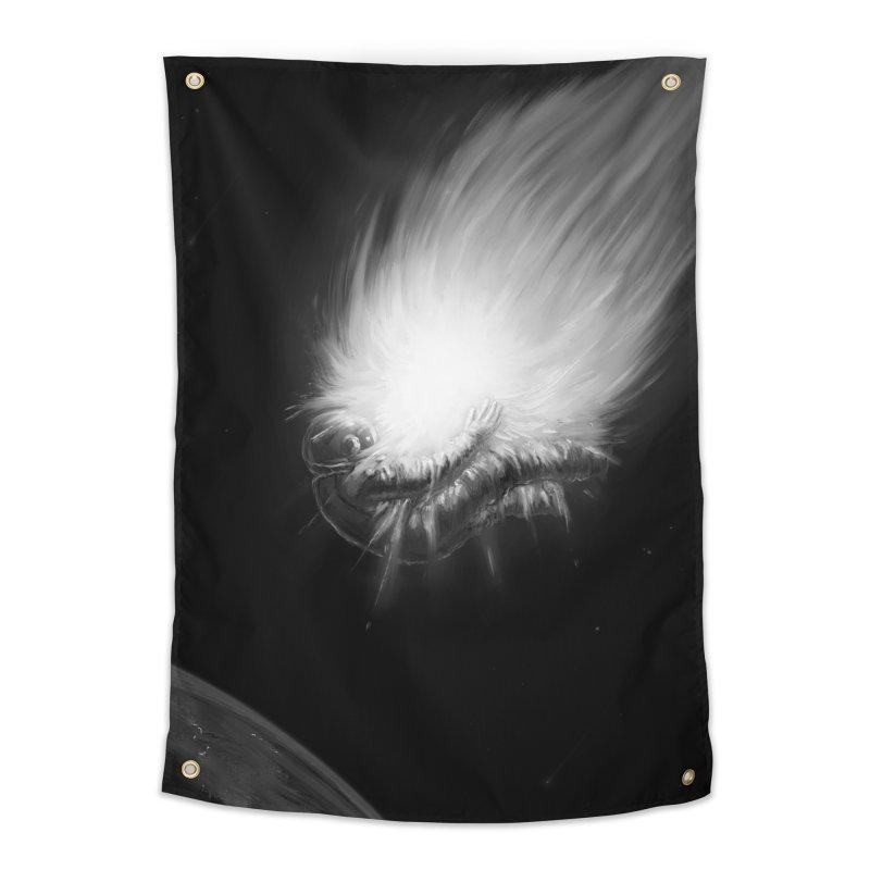 Asteroid Blast Home Tapestry by nicebleed