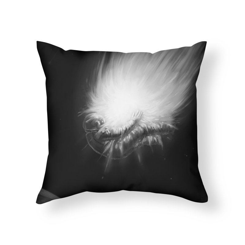 Asteroid Blast Home Throw Pillow by nicebleed