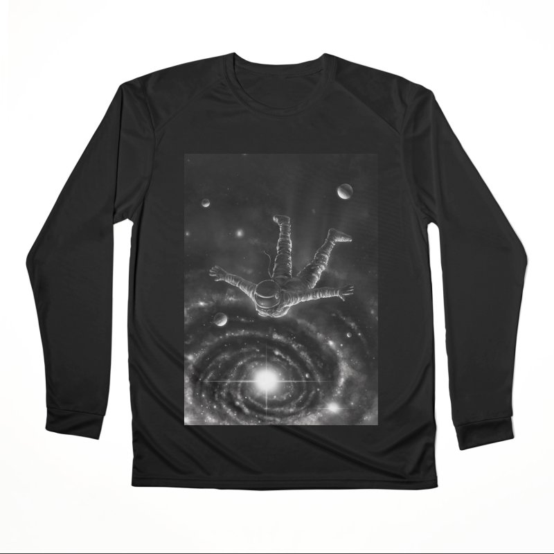 Space Diving II Women's Performance Unisex Longsleeve T-Shirt by nicebleed