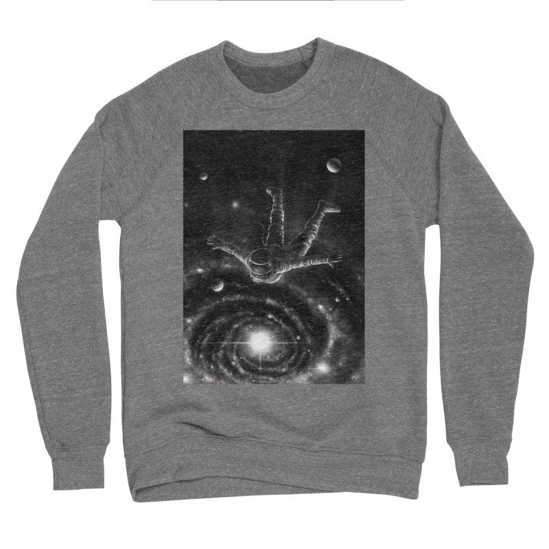Space Diving II Men's Sponge Fleece Sweatshirt by nicebleed