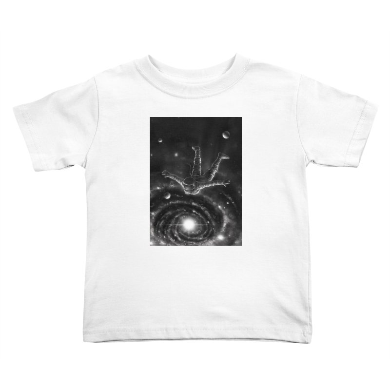 Space Diving II Kids Toddler T-Shirt by nicebleed