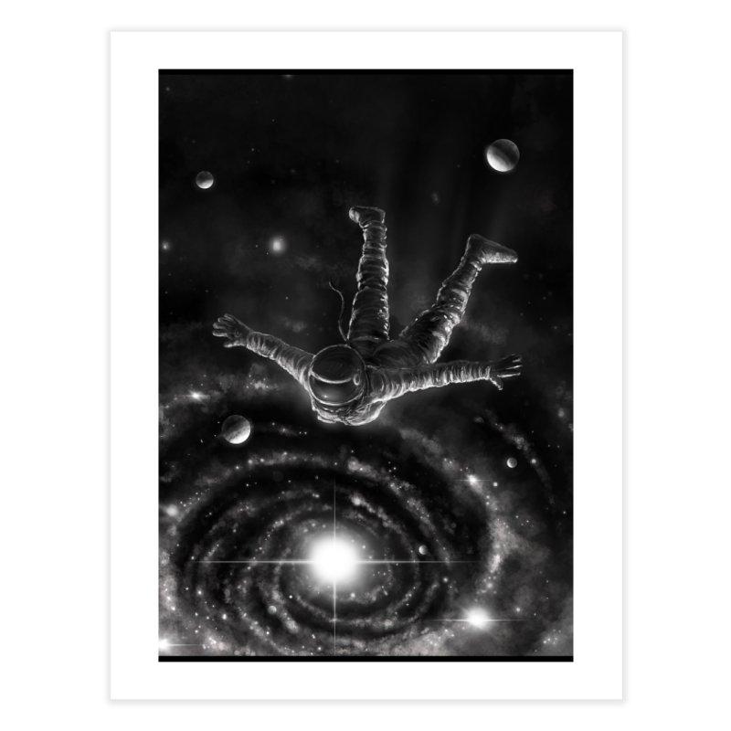 Space Diving II Home Fine Art Print by nicebleed