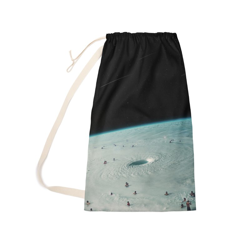 Hurricane Bath Accessories Laundry Bag Bag by nicebleed