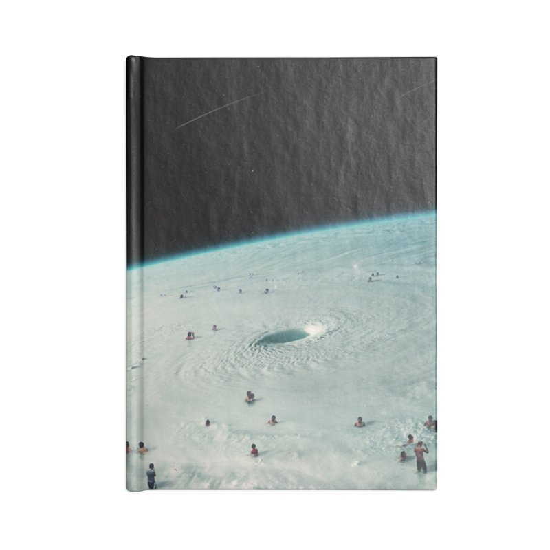 Hurricane Bath Accessories Lined Journal Notebook by nicebleed