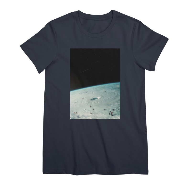 Hurricane Bath Women's Premium T-Shirt by nicebleed
