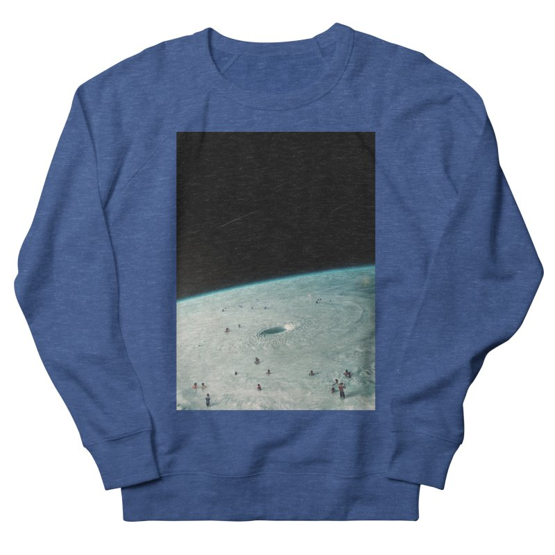 Hurricane Bath Women's French Terry Sweatshirt by nicebleed
