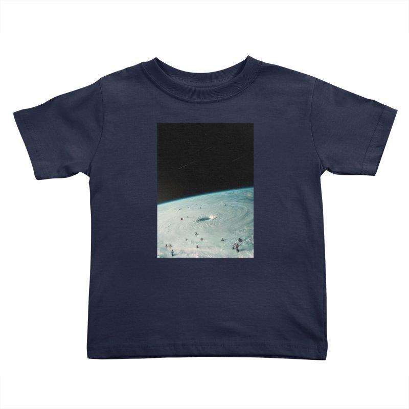 Hurricane Bath Kids Toddler T-Shirt by nicebleed