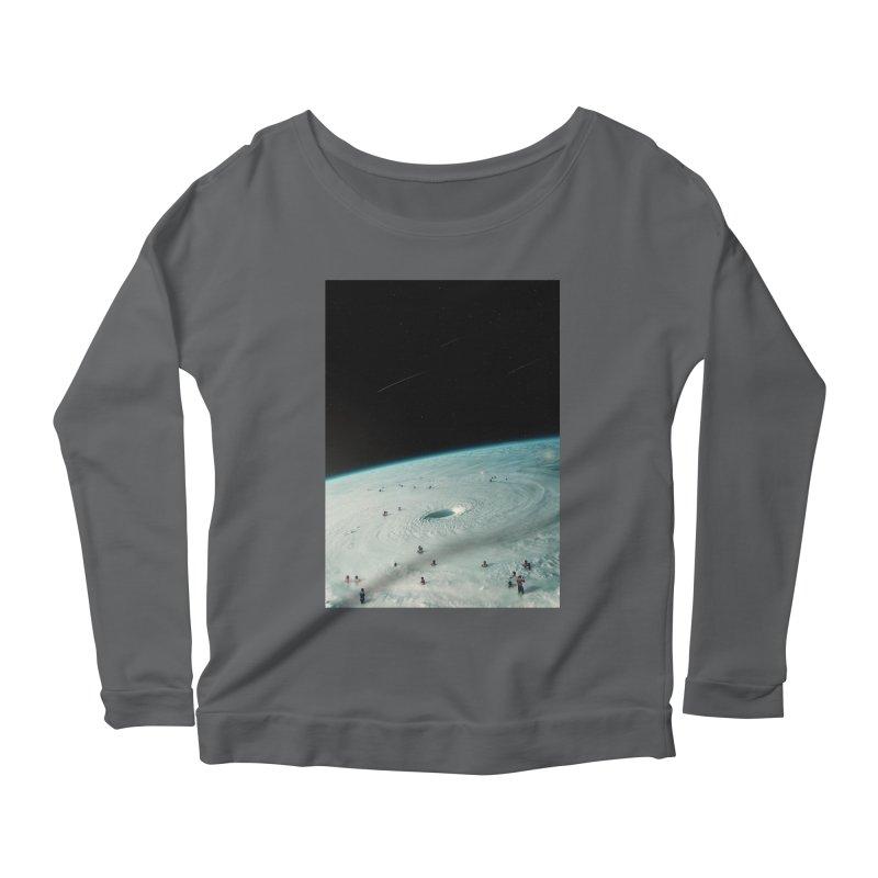 Hurricane Bath Women's Scoop Neck Longsleeve T-Shirt by nicebleed