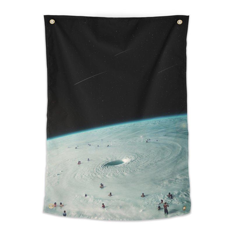 Hurricane Bath Home Tapestry by nicebleed