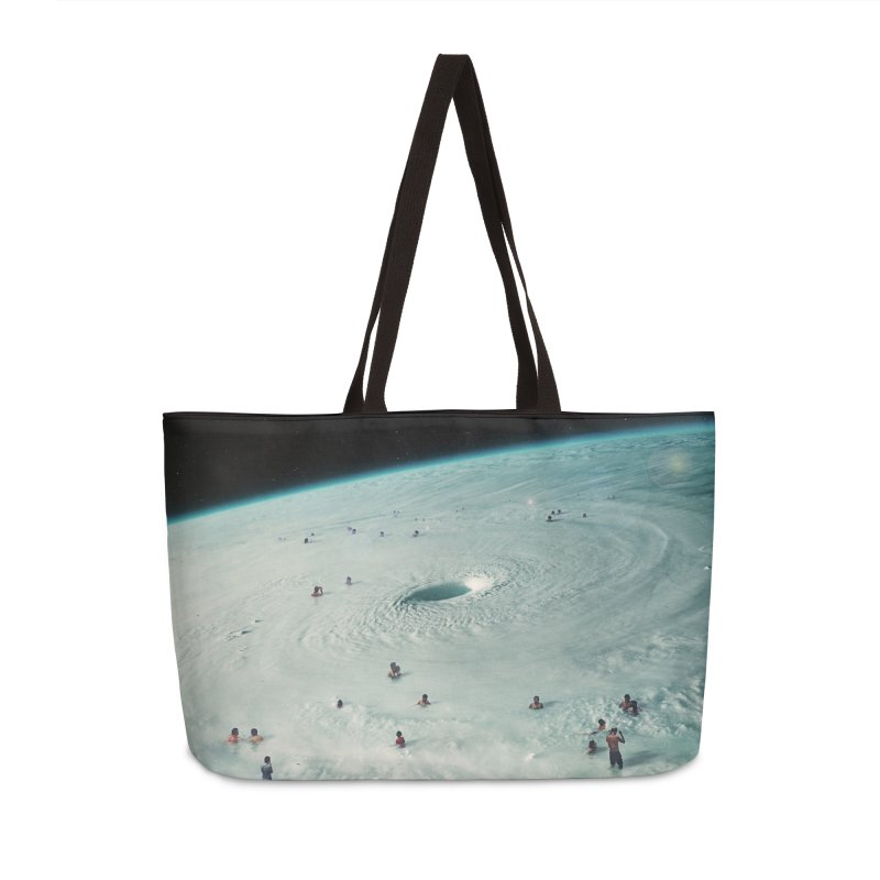 Hurricane Bath Accessories Weekender Bag Bag by nicebleed