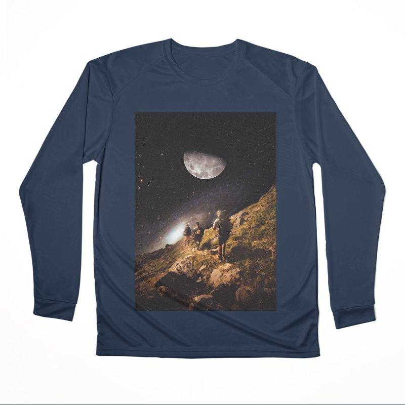 Traverse Men's Performance Longsleeve T-Shirt by nicebleed